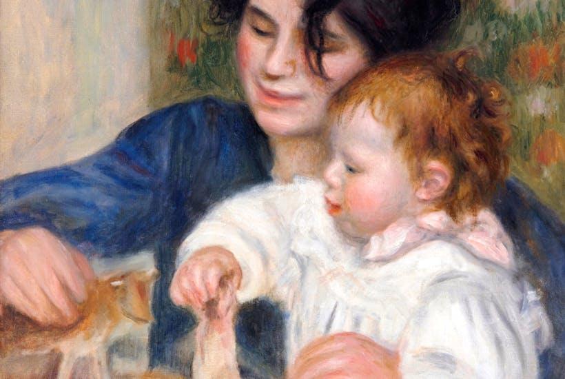 Renoir's exuberant  pisces