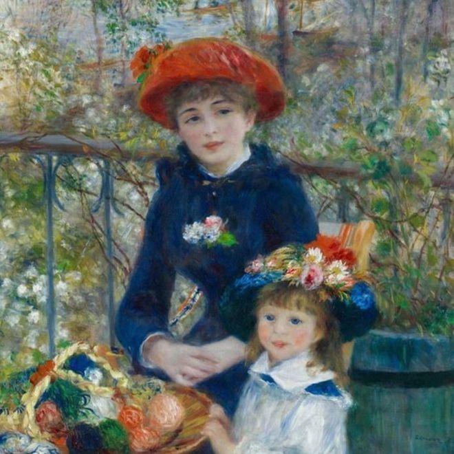 Renoir Pisces Sun sign