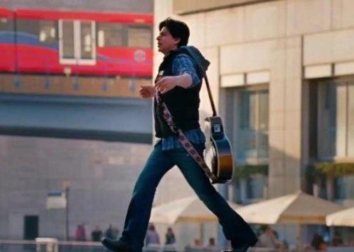 Shah Rukh Khan Scorpio