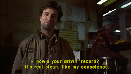 Lonely Antihero Aries Taxi Driver