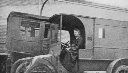 Scorpio Marie Curie Ambulance