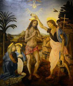 Jesus was baptised by John the Baptist