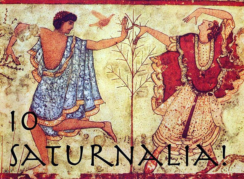 The Roman Festival of Saturnalia