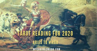 Tarot reading 2020 Aries to Virgo