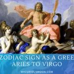 Greek gods Sun signs