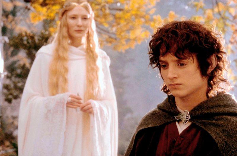 Pinterest Galadriel & Frodo
