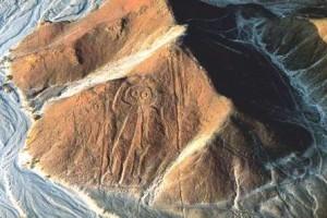owl-man Nazca Lines
