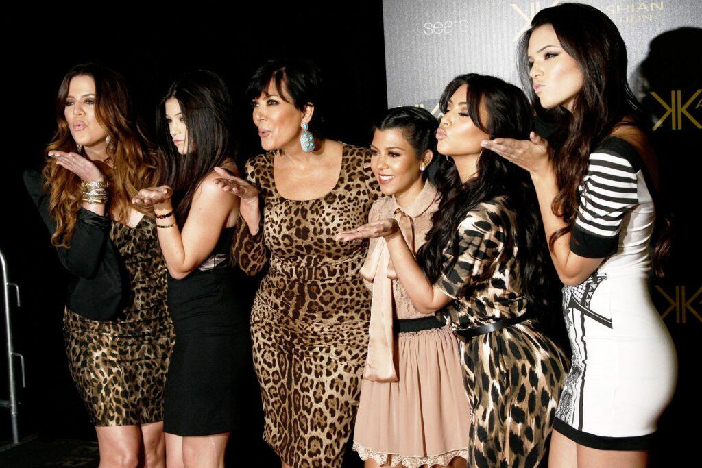 A Kardashian family throwback