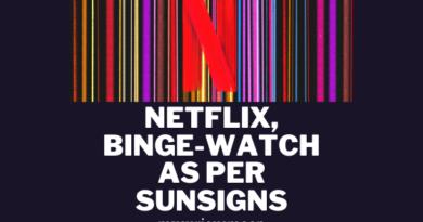 Netflix, Binge-watch as per Sunsigns