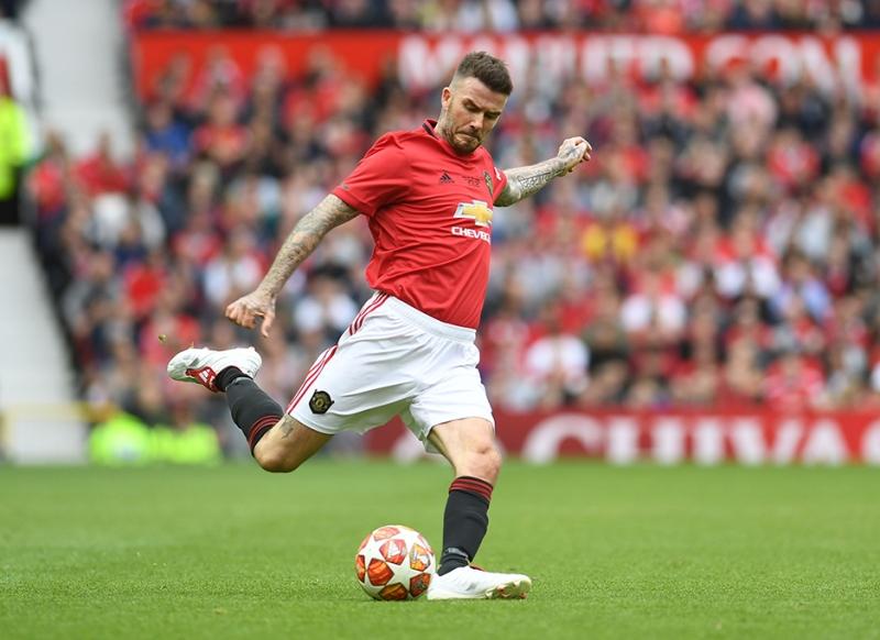 The footballer inside you, according to SunSign : David Beckham